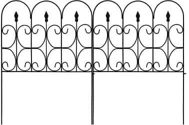 Amagabeli Decorative Garden Fence 32in x 10ft