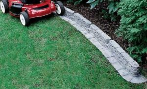Emsco Group 2032-1-1 Bedrocks Trim-Free Lawn Edging
