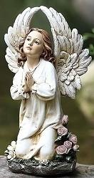 Joseph's Studio 16 Kneeling Angel Garden Statue