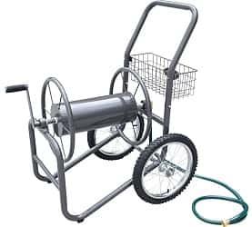 Liberty Garden Products 880-2 Industrial 2-Wheel Pneumatic Tires Garden Hose Reel