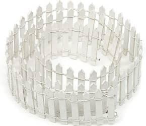 Tonsiki 40 Inch Length Miniature Fairy Garden Ornament Fence