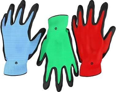 Vremi Heavy Duty Gardening Gloves