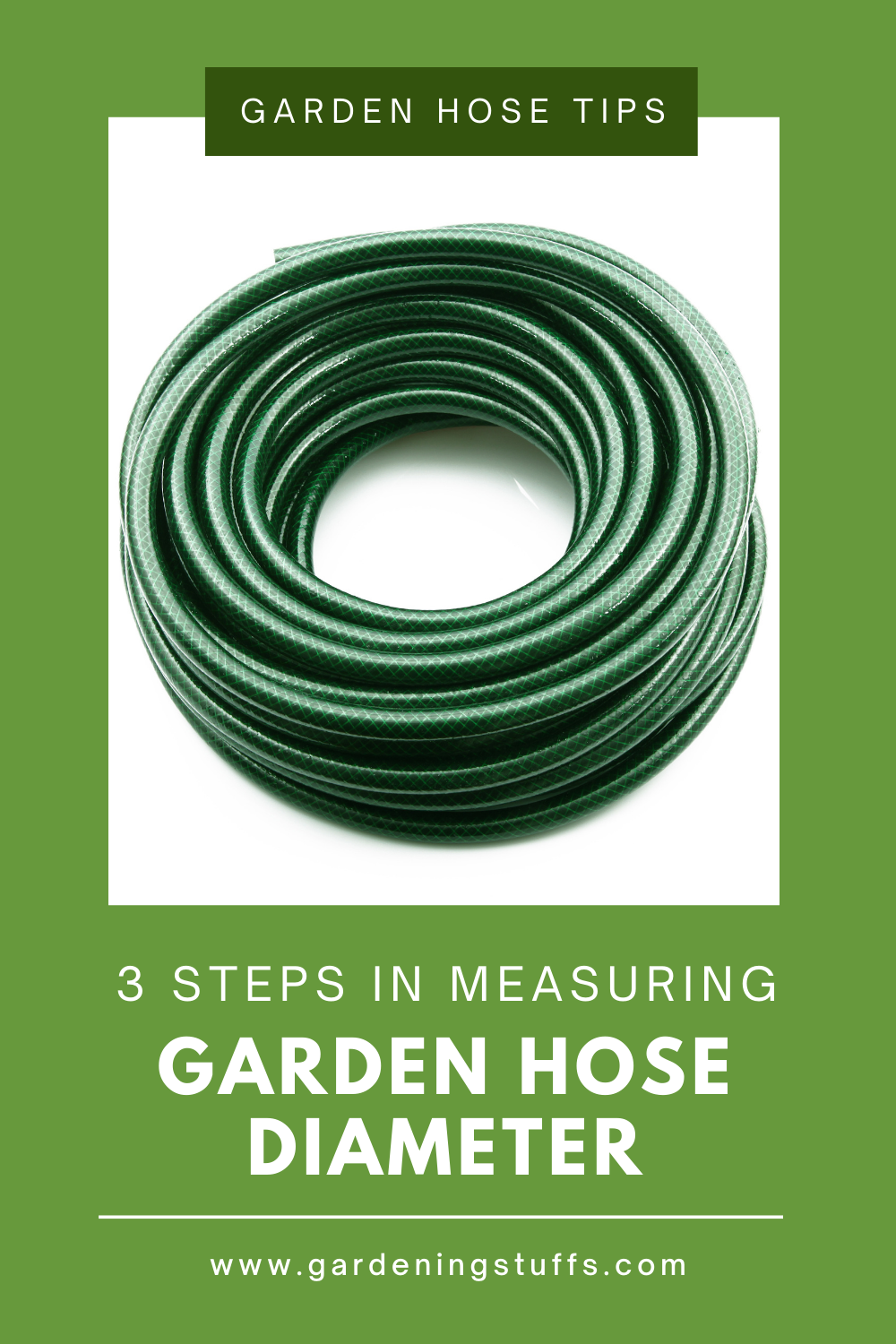 A garden hose that's of the right size will help increase your efficiency and reduce the effort needed in watering your garden. Learn how to measure the diameter of your hose the easy way by following these 3 steps in our article.