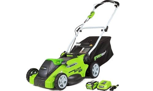 Greenworks Cordless Walk Behind Mower