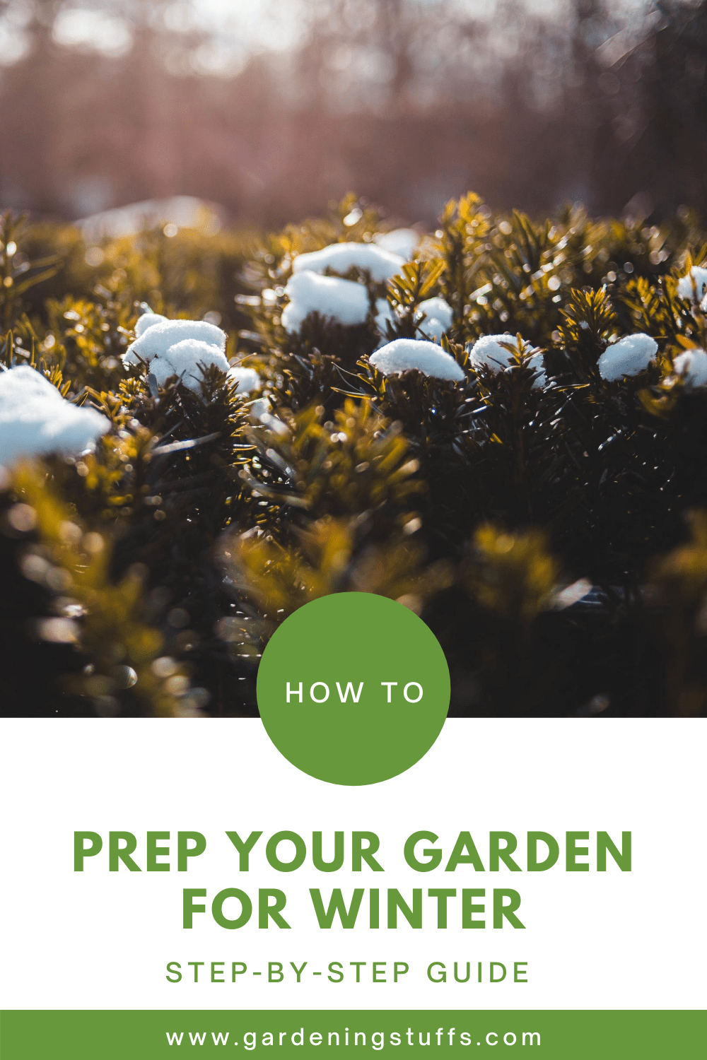 Winter is coming and your annual greens are almost saying goodbye. Read on to know how you can prep your garden before winter comes, and get ahead of your spring gardening chores while others are still in a frenzy.